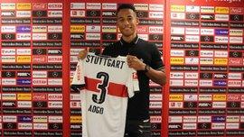 Аого став гравцем Штутгарта