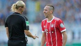 Рибери развязал шнурки женщине-арбитру перед красивым голом в Кубке Германии