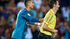 Роналду може отримати 12-матчеву дискваліфікацію за поштовх арбітра