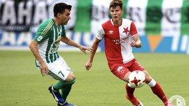 Славія із Соболем втратила очки у чемпіонаті Чехії