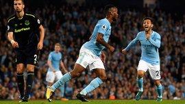 Манчестер Сіті – Евертон – 1:1 – Відео голів та огляд матчу