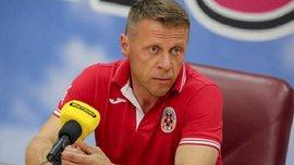 Тренер Волыни Комзюк: Моя отставка не принята, я в отпуске