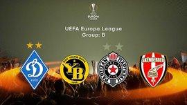 Календар матчів Динамо у групі B Ліги Європи 2017/18 – стали відомі дати і час початку