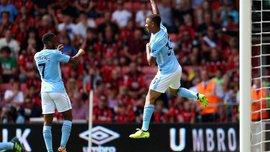 Манчестер Сити вырвал победу в матче против Борнмута благодаря голу Стерлинга
