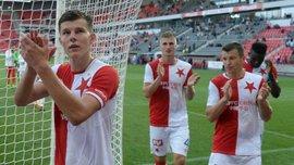 Соболь забив дебютний гол за Славію