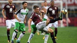 Белотти забил сумасшедший гол в матче Торино – Сассуоло