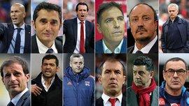 Сарри, Вальверде и еще 10 элитных наставников соберутся на Форуме лучших клубных тренеров УЕФА 30 августа