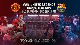 Легенди Барселони і Манчестер Юнайтед зіграють матч в пам'ять про жертв терактів