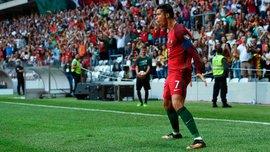 Отбор на ЧМ-2018: Роналду отметился хет-триком, Кадар голом помог Венгрии победить Латвию, Бельгия разбила Гибралтар