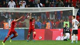 Дарида забил невероятный гол в ворота сборной Германии