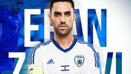 Захави отчислен из сборной Израиля за то, что выбросил капитанскую повязку во время матча