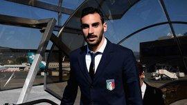 Дзаппакоста викликаний у збірну Італії замість Бонуччі та Спінаццоли