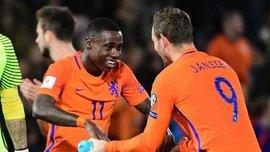 Нідерланди впевнено перемогли Болгарію