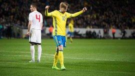 Отбор на ЧМ-2018: Швеция разгромила Беларусь, Эстония минимально победила Кипр