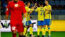 Білорусь – Швеція – 0:4 – Відео голів та огляд матчу