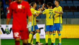 Беларусь – Швеция – 0:4 – Видео голов и обзор матча