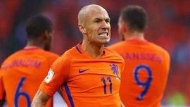 Роббен обійшов Кройфа за кількістю голів за збірну Нідерландів