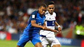 Отбор на ЧМ-2018: Франция сенсационно сыграла вничью с Люксембургом, Швейцария разгромила Латвию