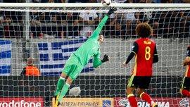 Бельгия минимально переиграла Грецию и прошла на Чемпионат мира