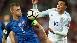 Деле Алли показал средний палец арбитру во время матча Англия – Словакия