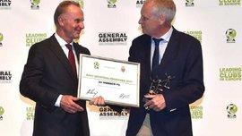 Монако отримав нагороду від Асоціації європейських клубів