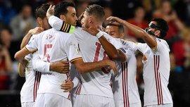 Отбор к ЧМ-2018: Испания уничтожила Лихтенштейн, Италия переиграла Израиль, Сербия победила Ирландию