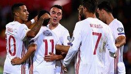 Лихтенштейн – Испания – 0:8 – Видео голов и обзор матча