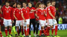 Сборная Уэльса снова сделала странные командные фото накануне матчей отбора на ЧМ-2018