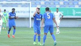 Сын наставника Кяпаза Диниев забил сумасшедший гол метров с 60 в ворота Интера Баку