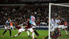 Вест Хем обіграв Хаддерсфілд завдяки курйозному голу