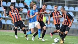 Шахтер U-19 проиграл Наполи U-19 в стартовом матче Юношеской лиги УЕФА