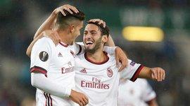 Лига Европы: Милан уничтожил Аустрию, Аталанта разгромила Эвертон