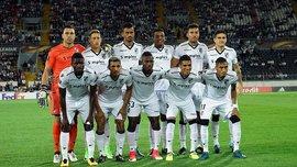 Витория стала первой командой в истории Лиги Европы, которая вышла на матч без единого европейца