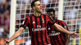 Калинич забил дебютные голы за Милан