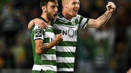 Матье забил за Спортинг роскошный гол со штрафного – Роналду оценил шедевр на трибуне