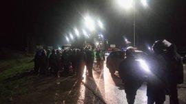 Фанати зупинили автобус Карпат поблизу Львова – на допомогу приїхав спецназ
