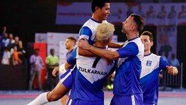 Гиггз забил супергол в чемпионате Индии по футзалу
