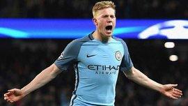 Манчестер Сити – Шахтер: Де Брюйне открыл счет мощным ударом