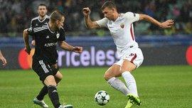 Карабах – Рома – 1:2 – Видео голов и обзор матча