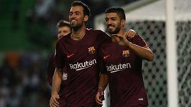 Спортинг – Барселона – 0:1 – Видео гола и обзор матча