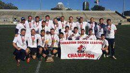 Команда Юкрейн Юнайтед стала чемпионом 2-го дивизиона чемпионата Канады