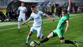 Данченко забил второй гол за Анжи – в ворота Зенита
