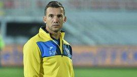 Шевченко и Беседин посоревновались в технике перед матчем Косово – Украина