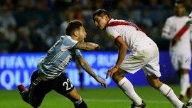 Алехандро Гомес продемонстрировал откровенную симуляцию в матче Аргентина – Перу
