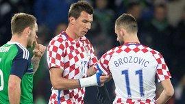 Україна – Хорватія: Брозовіч не зіграє, Манджукіч під питанням