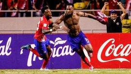 Коста-Рика вышла на ЧМ-2018 в драматичном матче