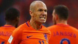 Роббен: Нидерланды потеряли все шансы в отборе к ЧМ-2018