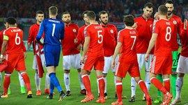 Федерация футбола Грузии извинилась перед Уэльсом за конфуз во время исполнения гимна