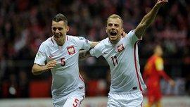 ЧМ-2018: Польша квалифицировалась на Мундиаль, Дания будет играть в плей-офф