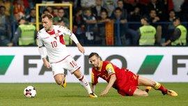 Дания – Румыния – 1:1 – Видео голов и обзор матча